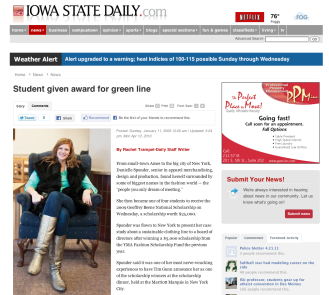 Iowa State Daily, Jan 11 2009