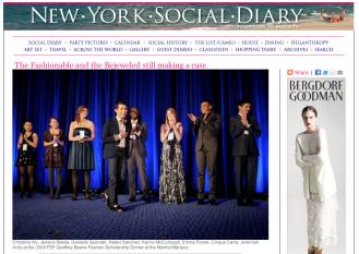 New York Social Diary, January 2009